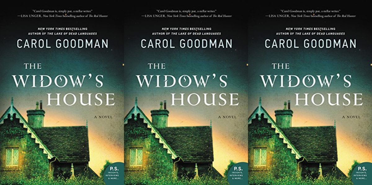 books about haunted houses, the widow's home by carol goodman, books