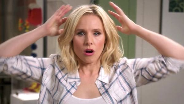 The Good Place, Kristen Bell, mind blown, confused, wow, hero, smart, brain