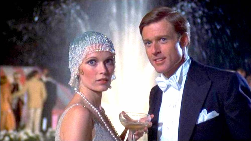 movies, The Great Gatsby, 1974, robert redford, mia farrow