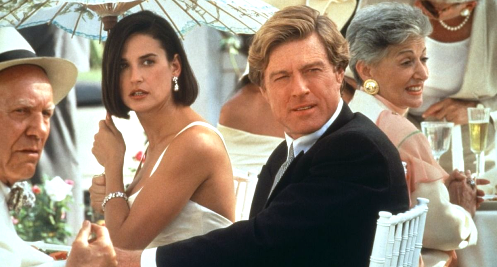 movies, Indecent Proposal, 1993, robert redford