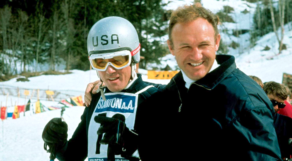 movies, downhill racer, 1969, robert redford, Gene Hackman