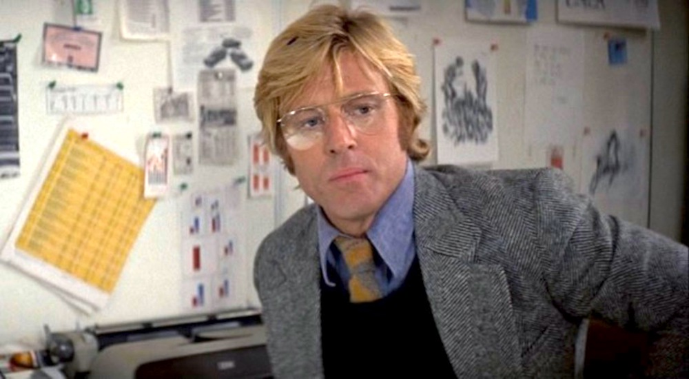 movies, three days of the condor, 1975, robert redford