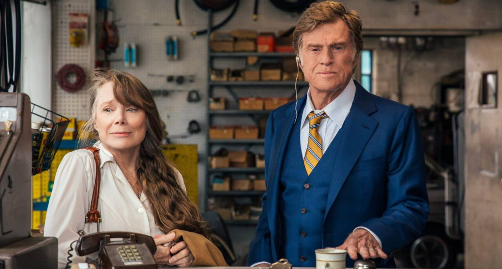 movies, the old man and the gun, 2018, robert redford, sissy spacek