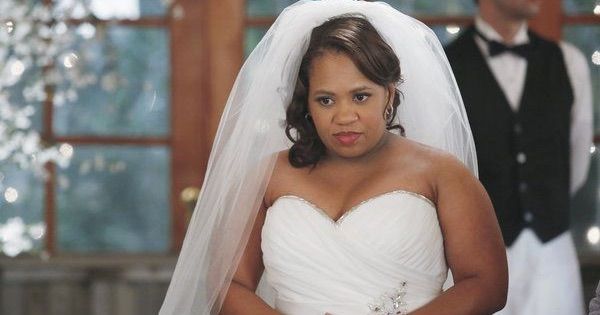 miranda bailey in wedding dress grey's anatomy