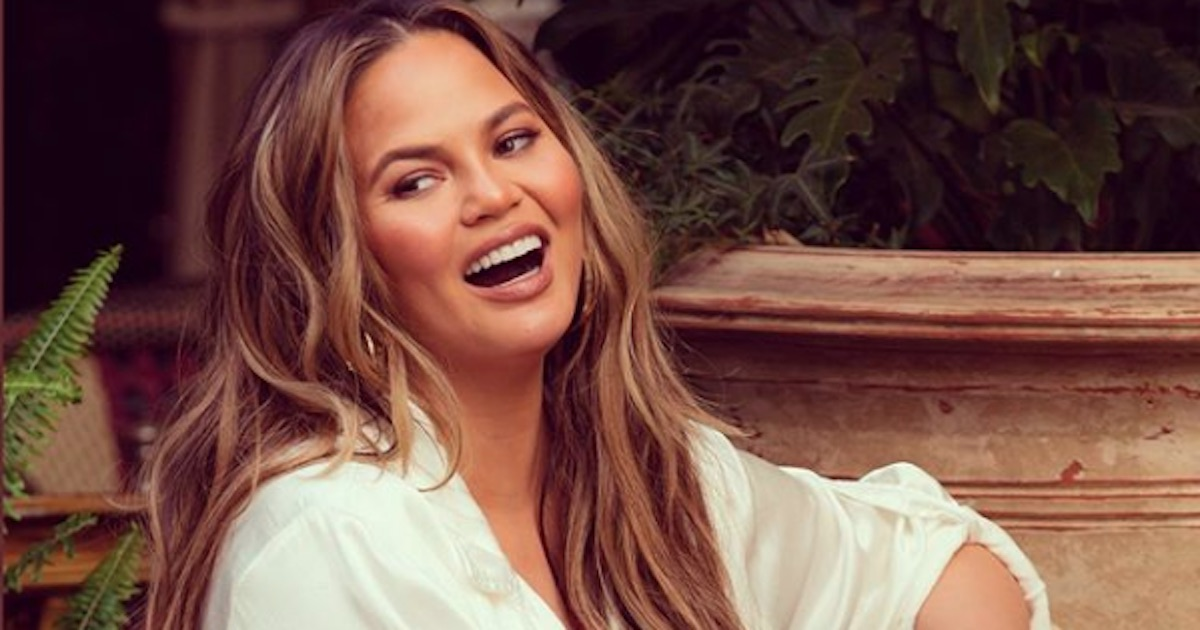 chrissy teigen smiling laughing quotes