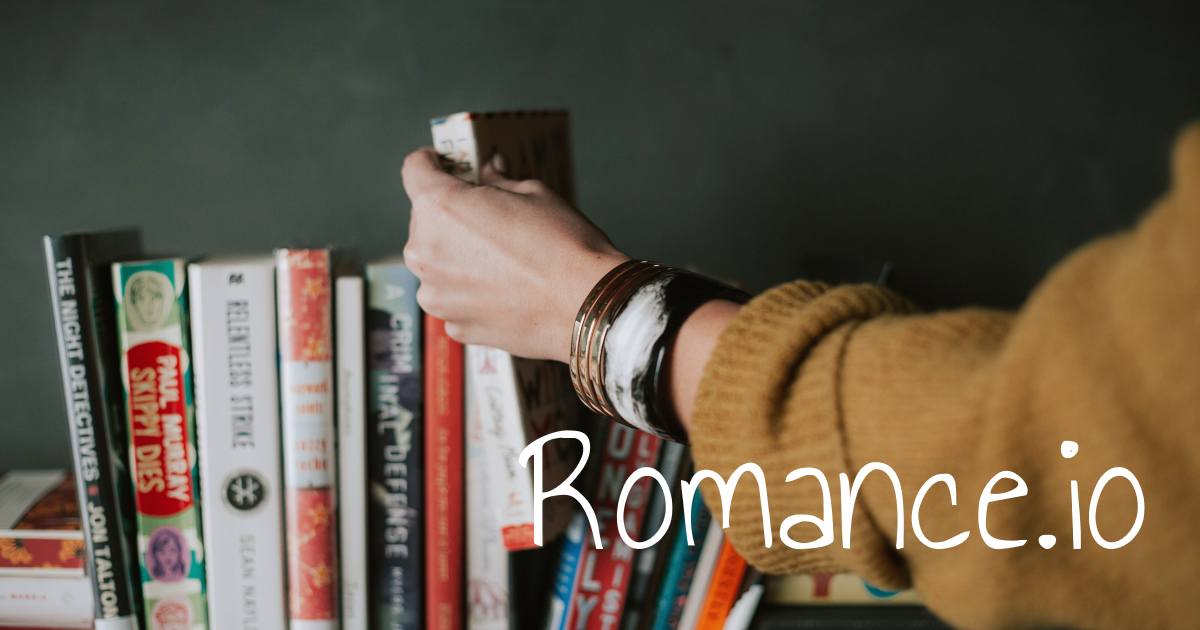 great romance websites, romance.io, books
