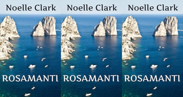 books about italy, rosamanti by noelle clark, books