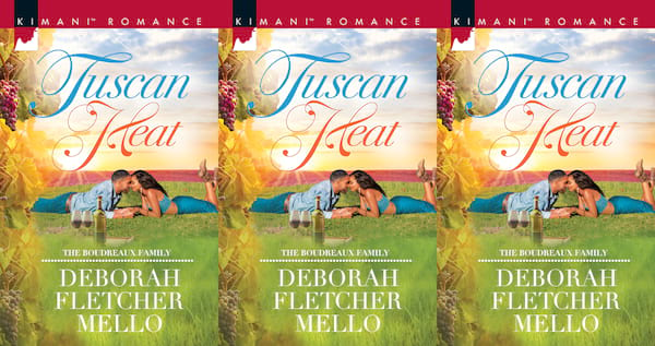 books about italy, tuscan heat by deborah fletcher, books