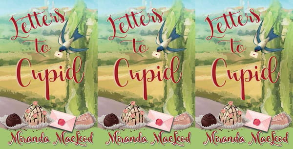 books about italy, letters to cupid by miranda macleod, books