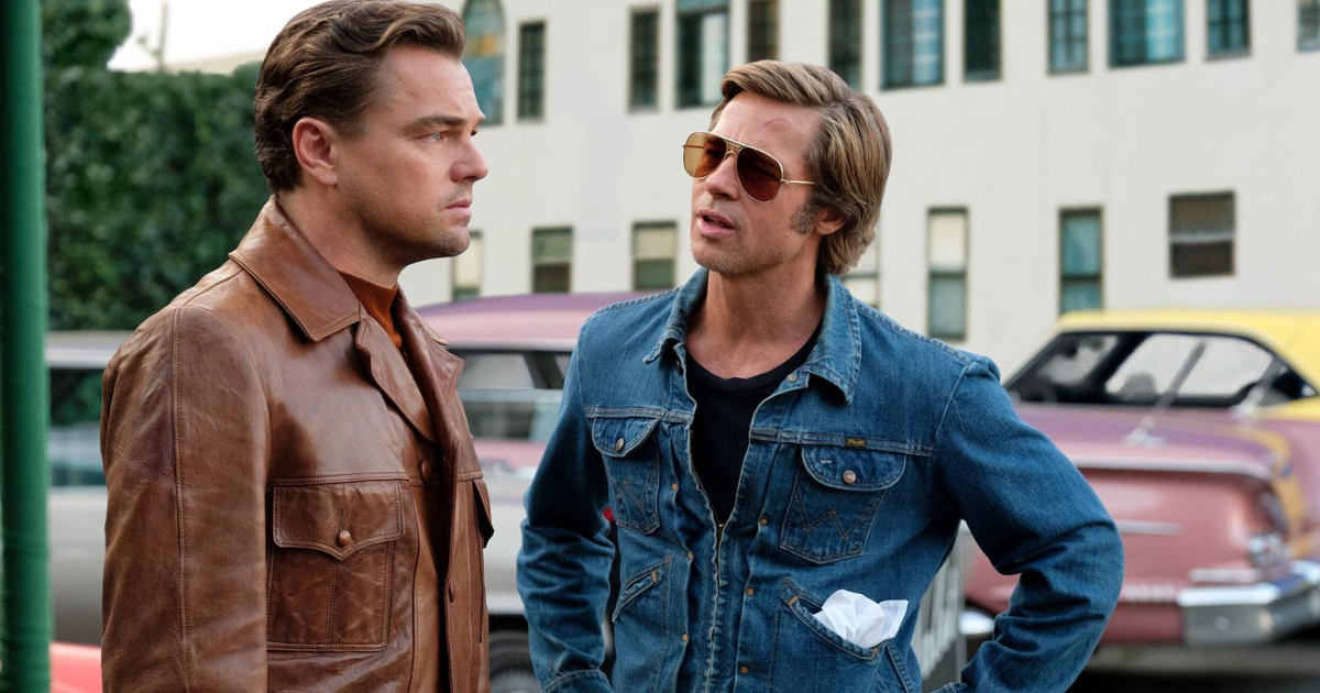 Cliff talking to Rick in a scene from 'Once Upon a Time in Hollywood'