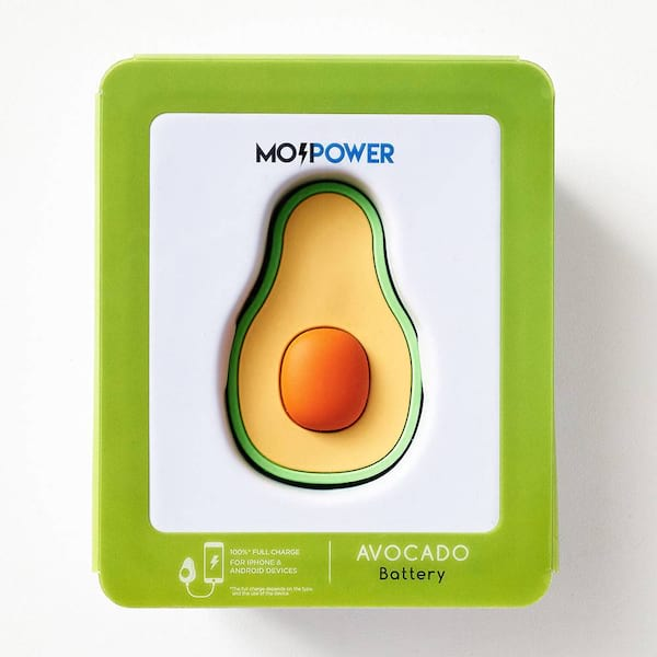 Avocado Power Bank from Paper Source