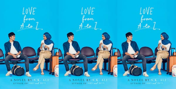 romance for teens, love from a to z by s.k. ali, books