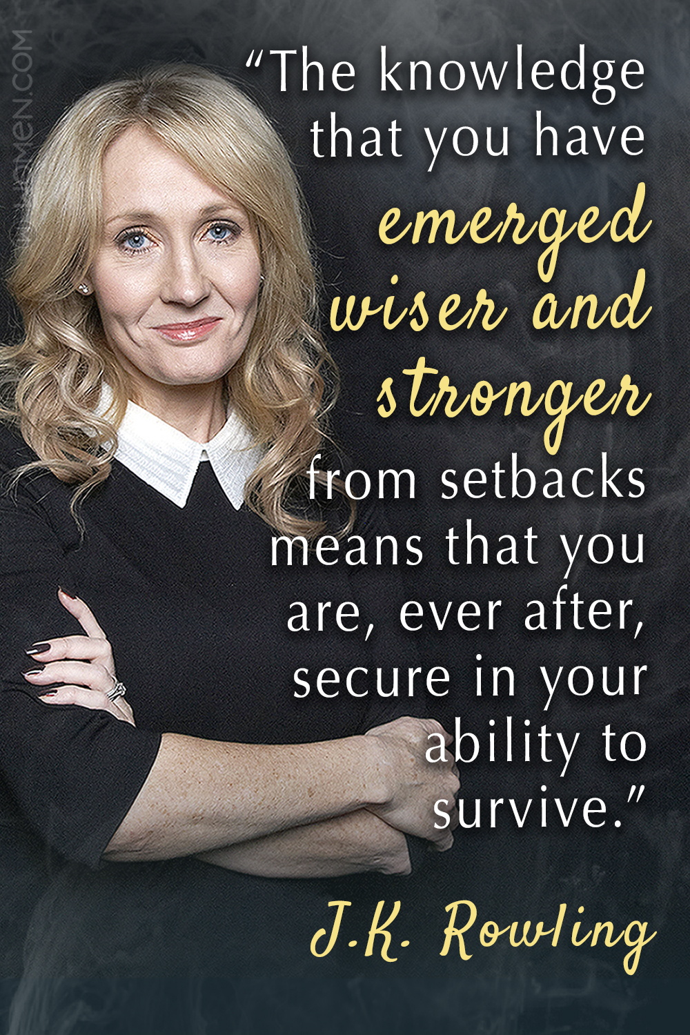 15 J.K. Rowling Quotes To Give You Some Magical Motivation, J.K. Rowling Quotes