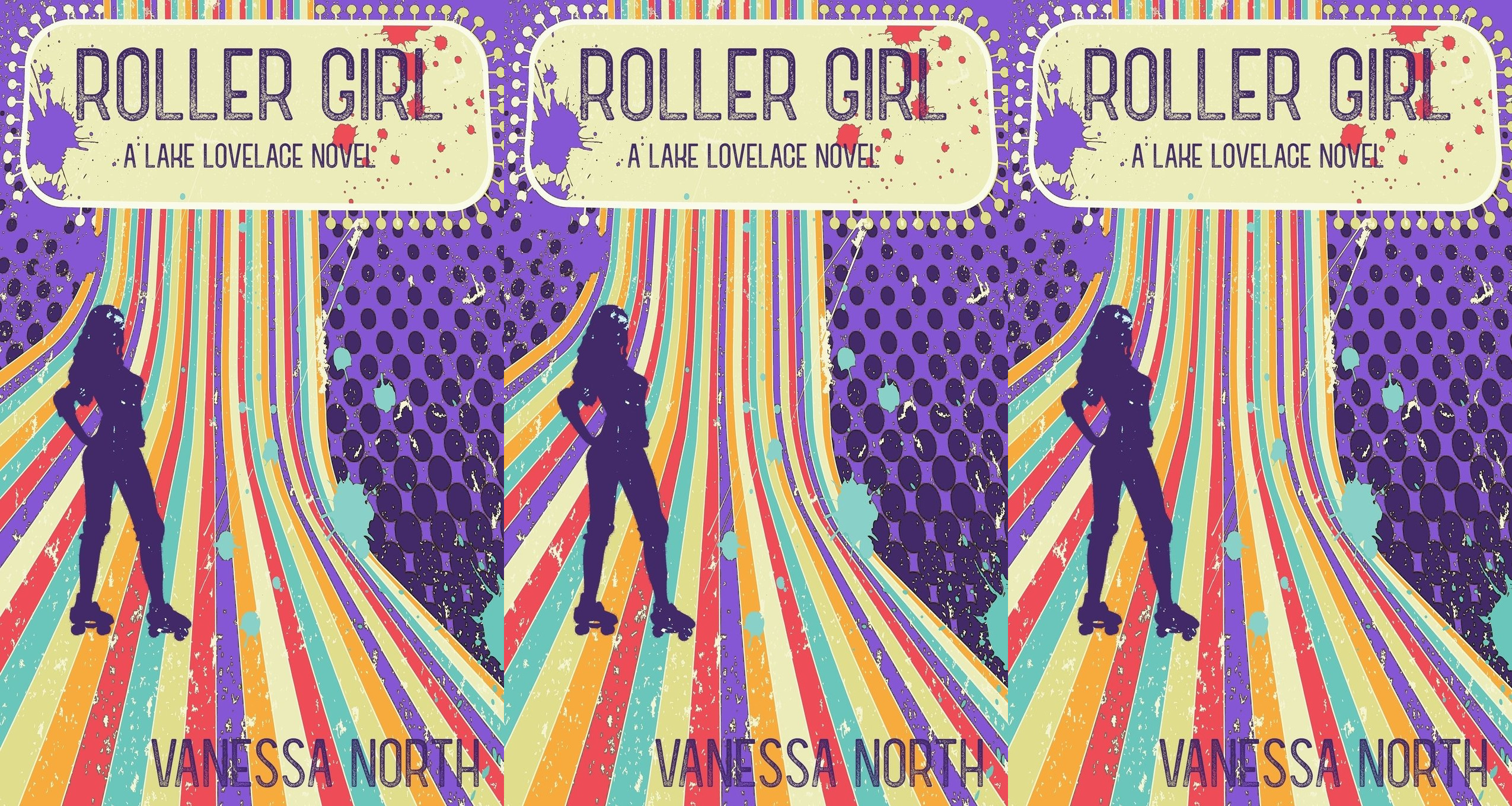 trans romance novels, roller girl by vanessa north, books