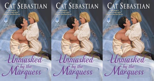 trans romance novels, unmasked by the marquess by cat sebastian, books