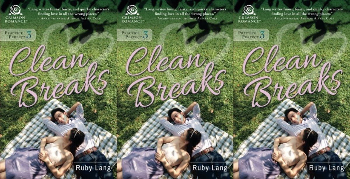 divorce romance novels, clean breaks by ruby lang, books