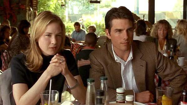 movies, jerry maguire, 1996, renée zellweger, tom cruise, romantic comedy