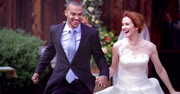 april and matthew's wedding april running away with jackson grey's anatomy season 10