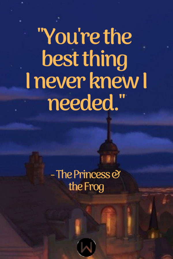 Disney, the princess and the frog, quote