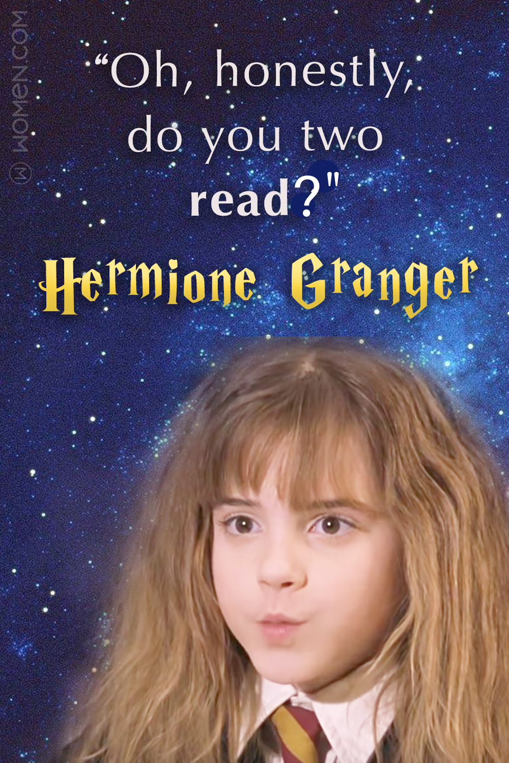 harry potter, hermione granger quote