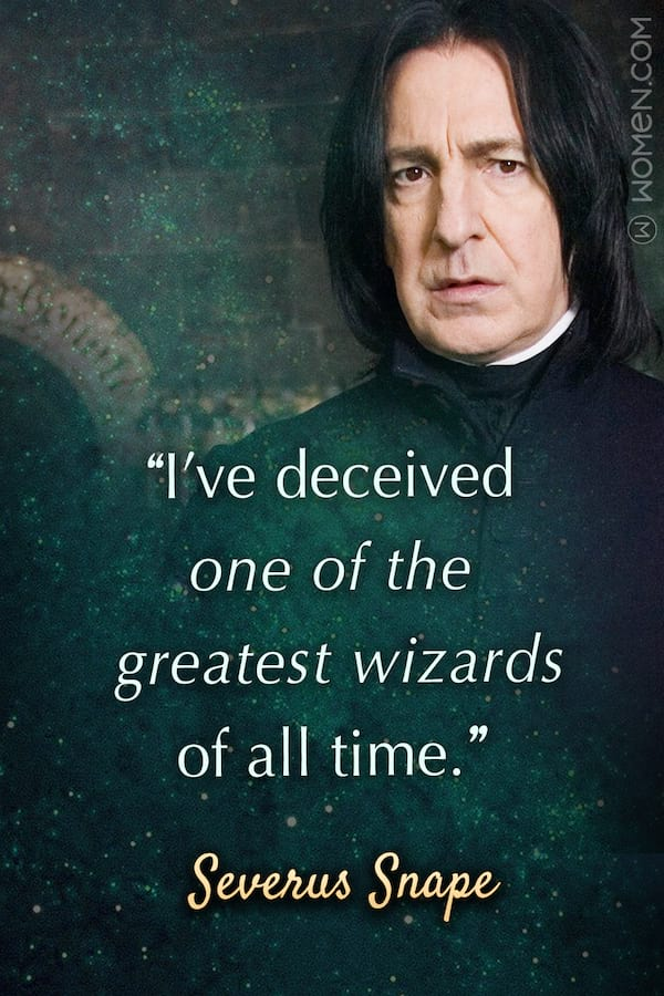 10 Severus Snape Quotes You Should Always Remember, Snape Quotes