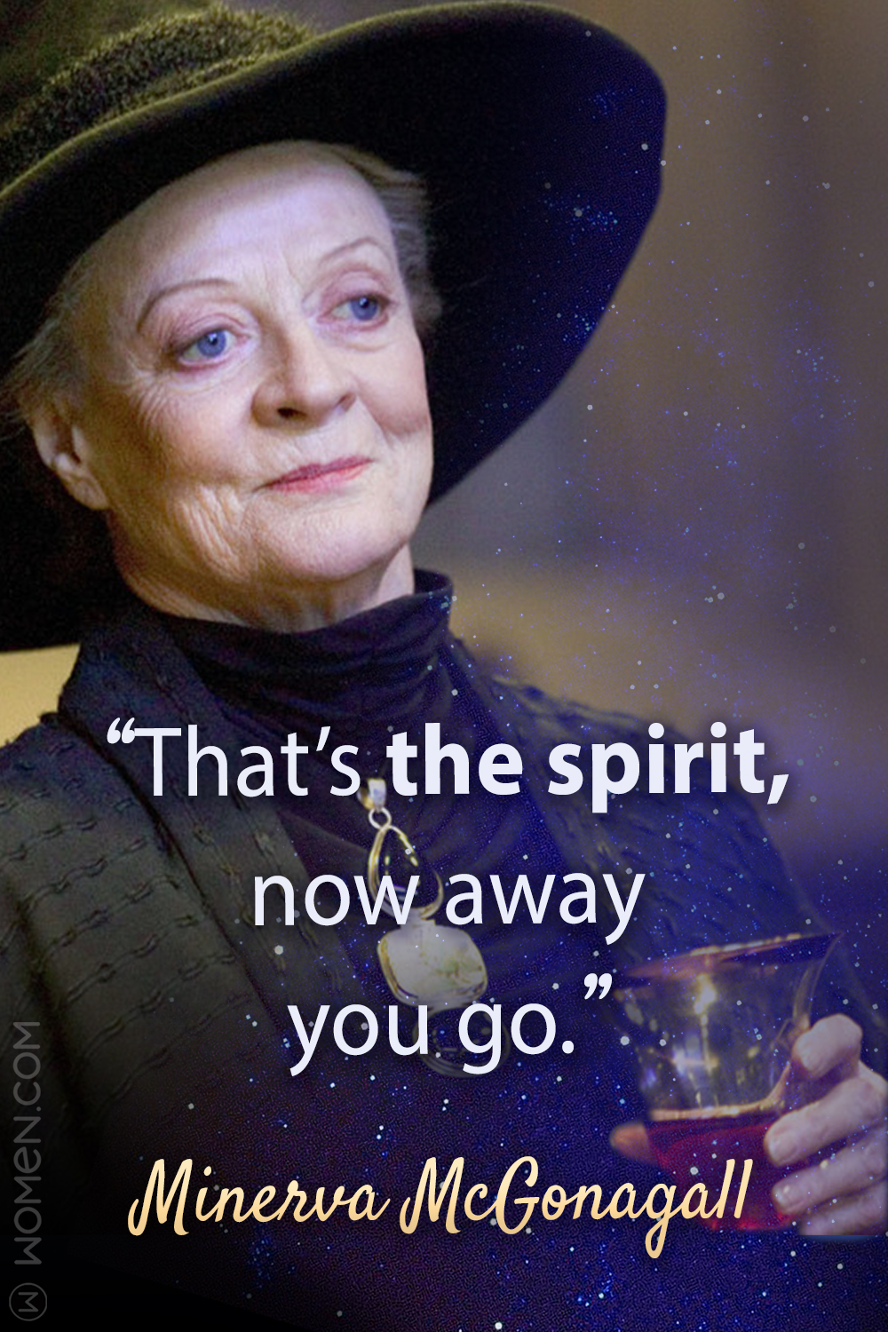 Top 10 Most Memorable Minerva McGonagall Quotes, Minerva quotes