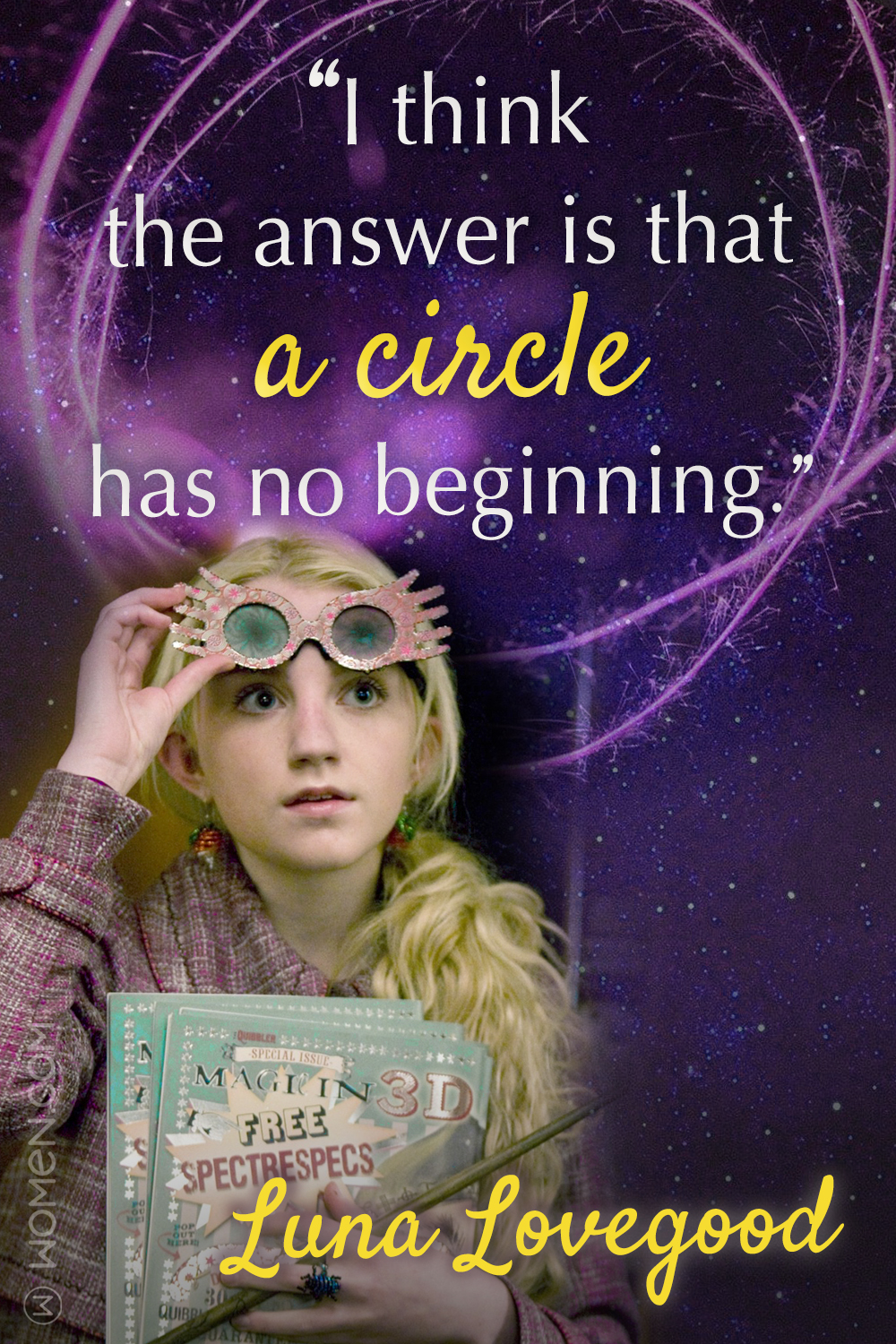 Luna lovegood quotes, 10 Luna Lovegood Quotes That'll Prove You're Just As Sane As She Is