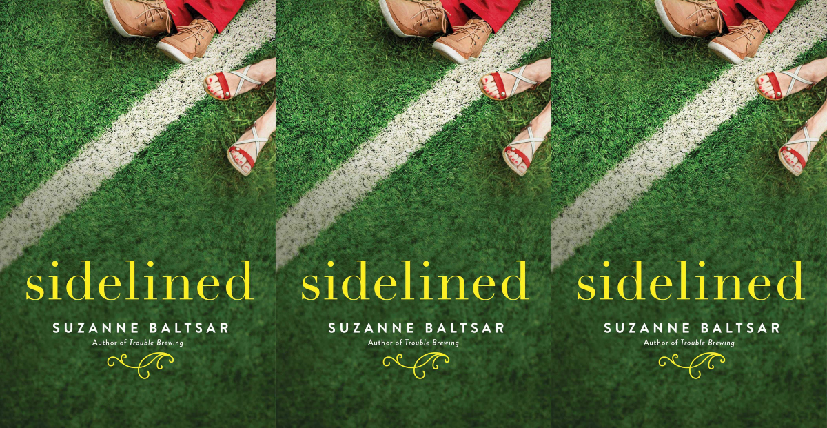 august romance novels, sidelined by suzanne baltsar, books