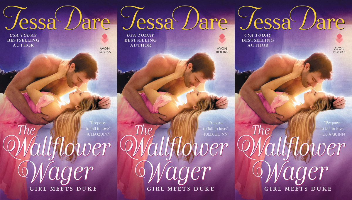 august romance novels the wallflower wager by tessa dare, books