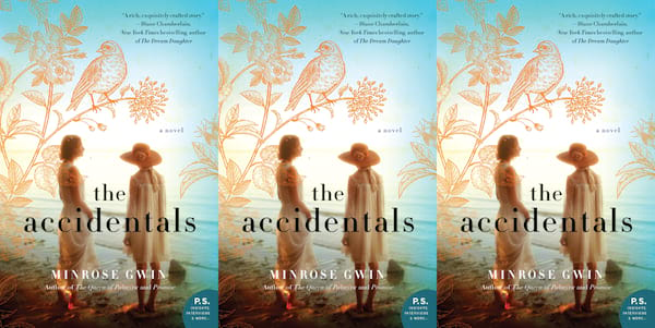 august romance novels, the accidentals by minrose gwin, books