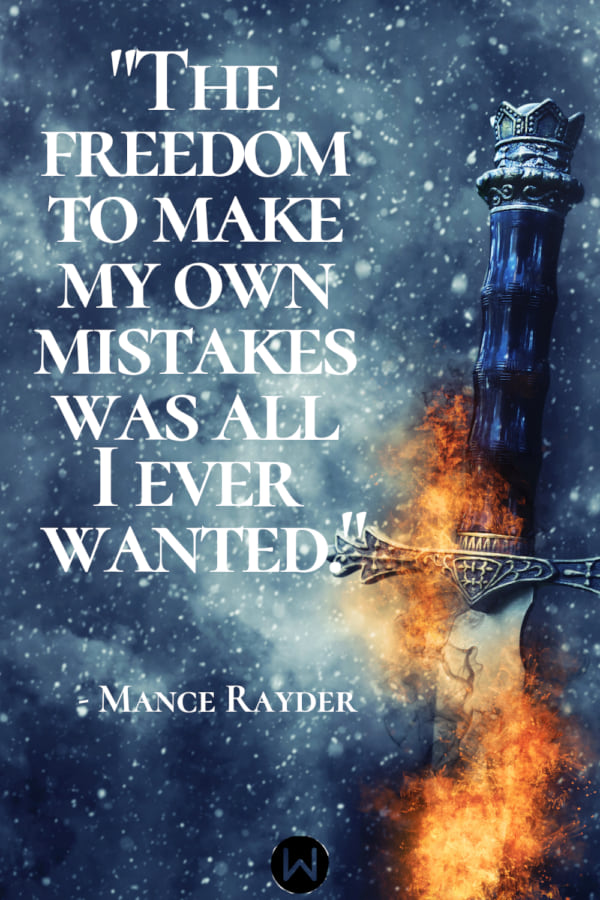 game of thrones, quotes, mance rayder