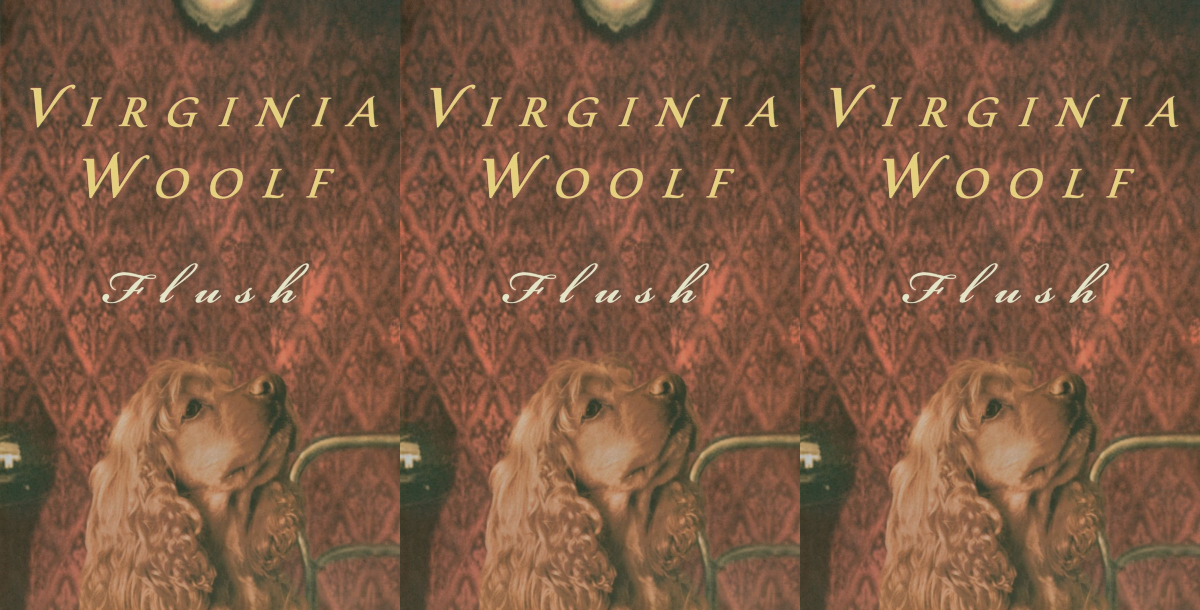 books about dogs, flush by virginia woolf, books, animals