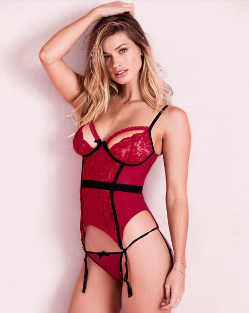 Woman wearing the Lyla Unlined from Adore Me