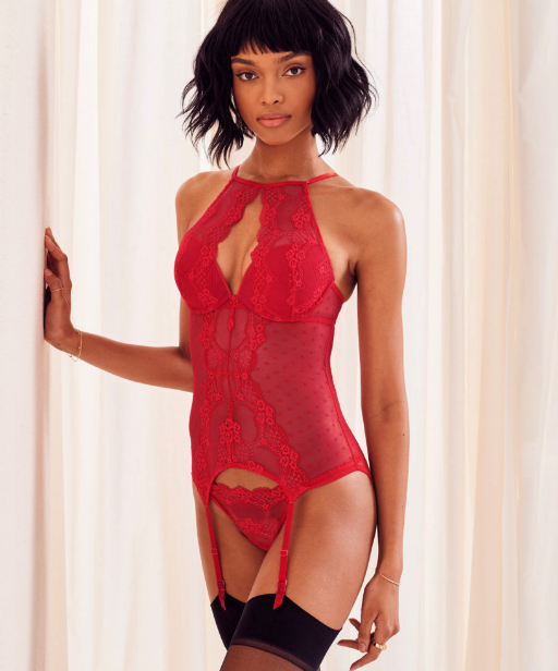 Woman wearing the Heathyr Push-Up set from Adore Me