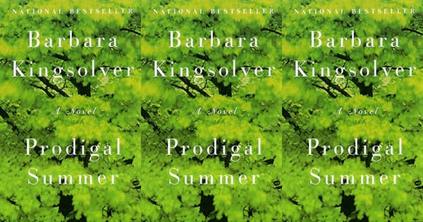 books like where the crawdads sing, prodigal summer by barbara kingsolver, books