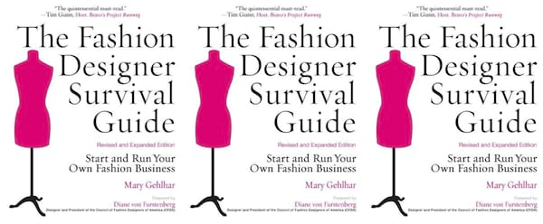 fashion industry books, the fashion designer survival guide by mary gehlhar, books, fashion