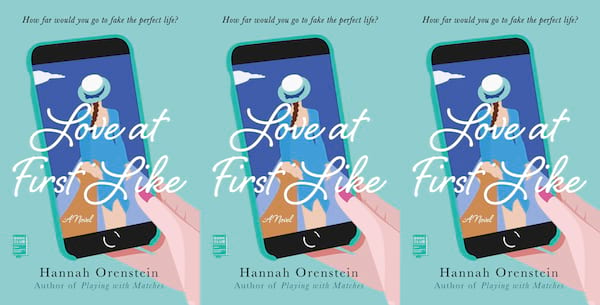 romance awareness month books, love at first like by hannah orenstein, books