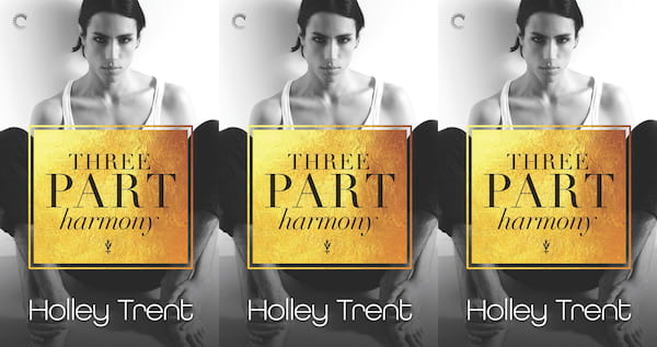 romance awarness month books, three part harmony by holley trent, books