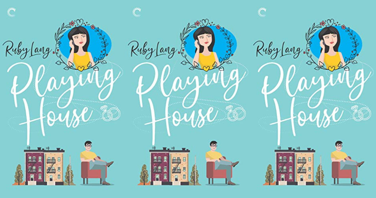 romance awareness month books, playing house by ruby lang, books