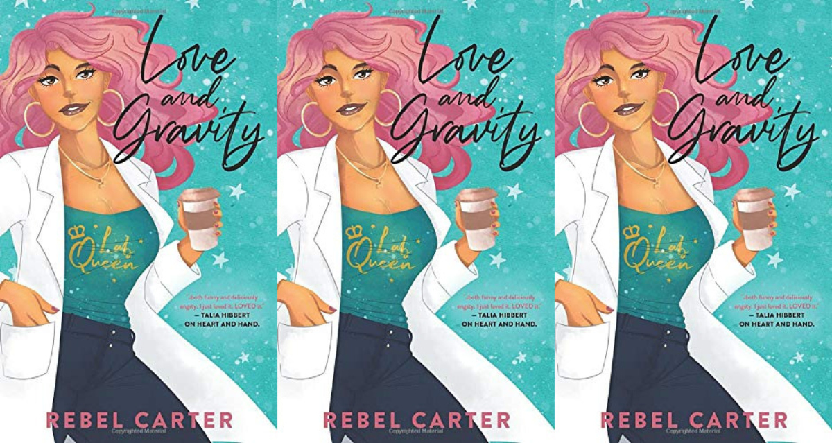 romance awareness books, love and gravity by rebel carter, books