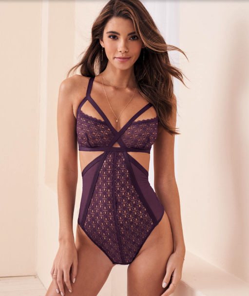 Woman wearing the Diane Unlined from Adore Me