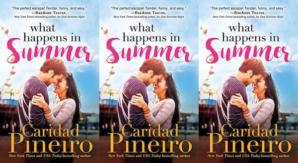 single parent romance novels, what happens in summer by caridad pineiro, books