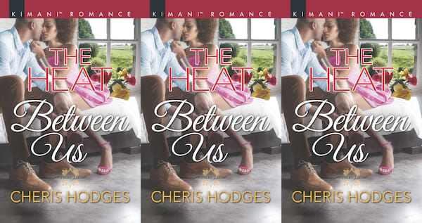 southern romance novels, the heat between us by cheris hodges, books