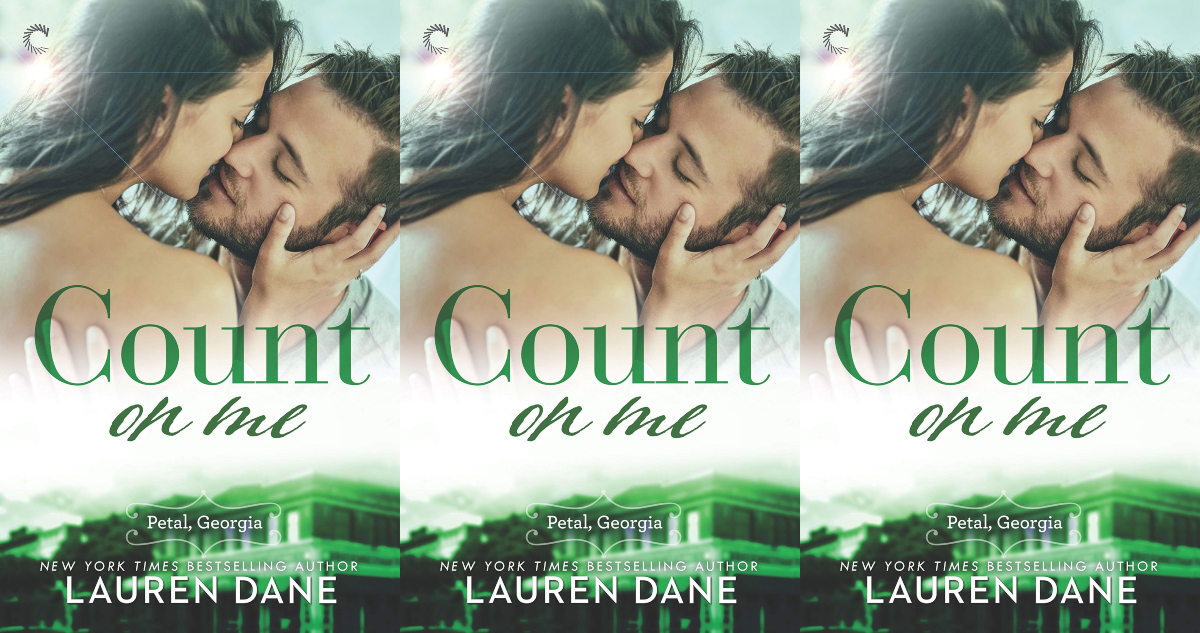 southern romance novels, count on my by lauren dane, books