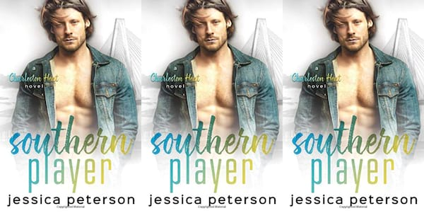 southern romance novels, southern player by jessica peterson, books
