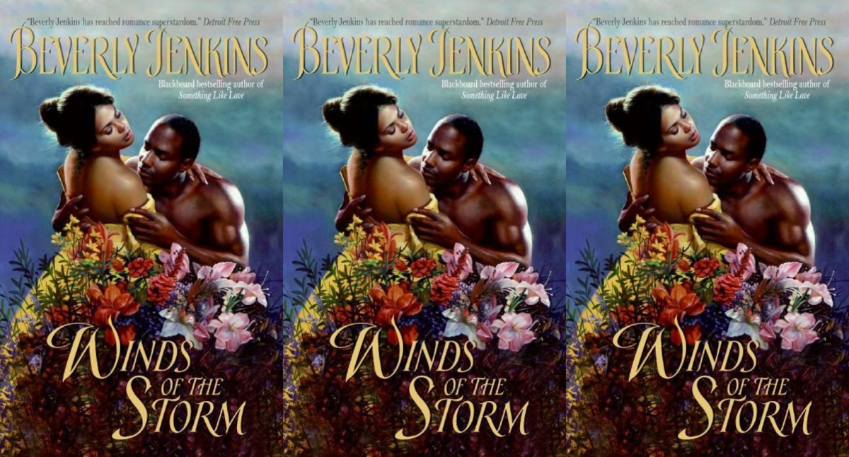 southern romance novels, winds of the storm by beverly jenkins, books