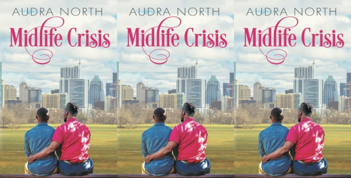 romance books with older couples, midlife crisis by audra north, books