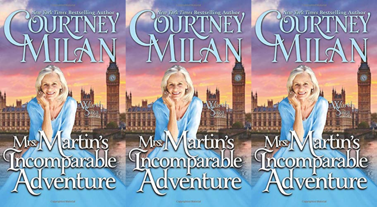 romance books featuring older couples, mrs. martin's incomparable adventure by courtney milan, books