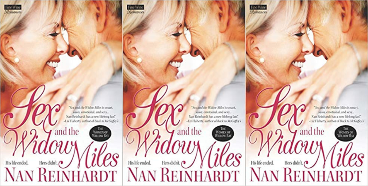 romance books featuring older couples, sex and the widow miles by nan reinhardt, books