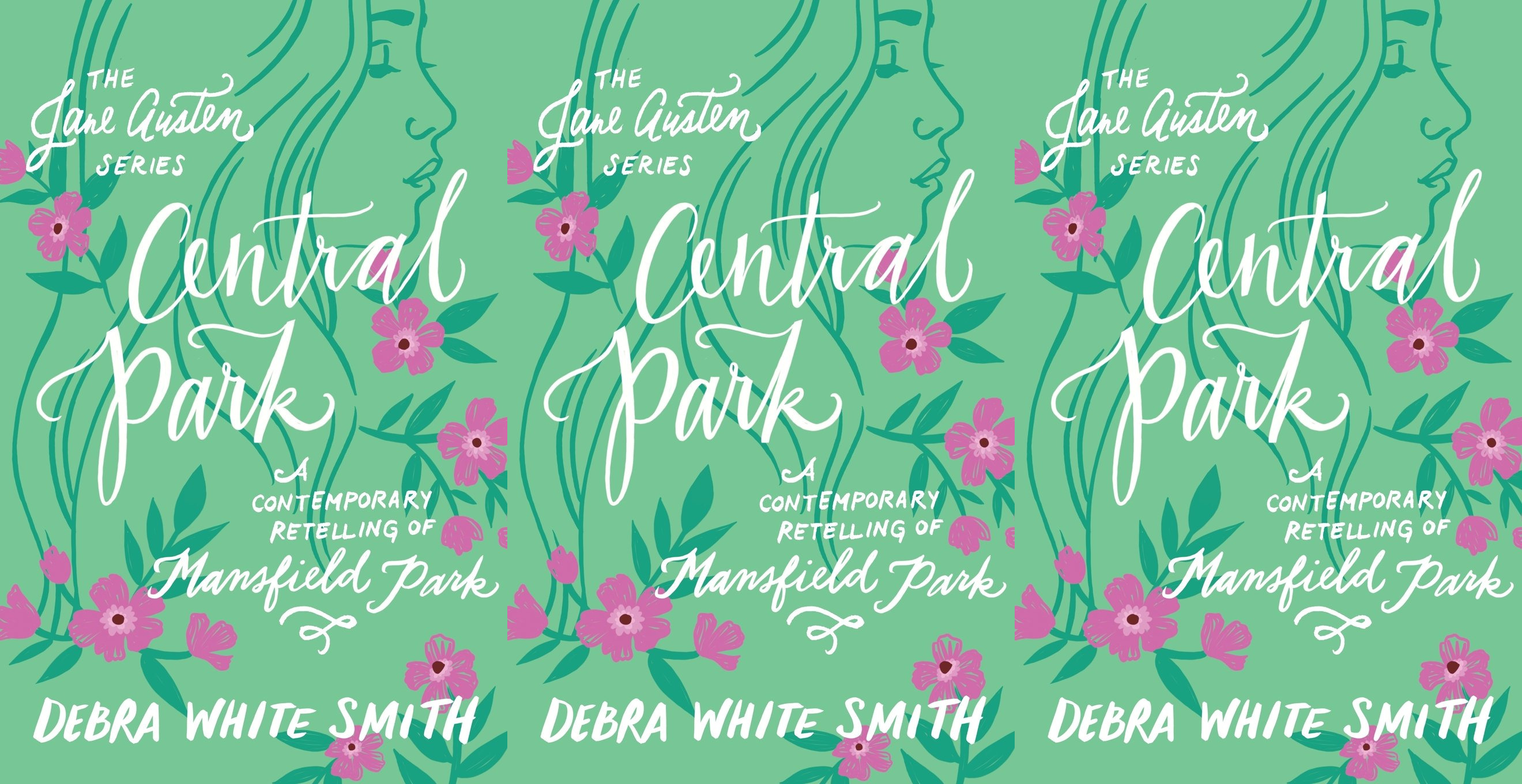 books inspired by jane austen, central park by debra white smith, books